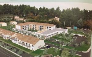 La future résidence autonomie du Pré de l'Ouvière